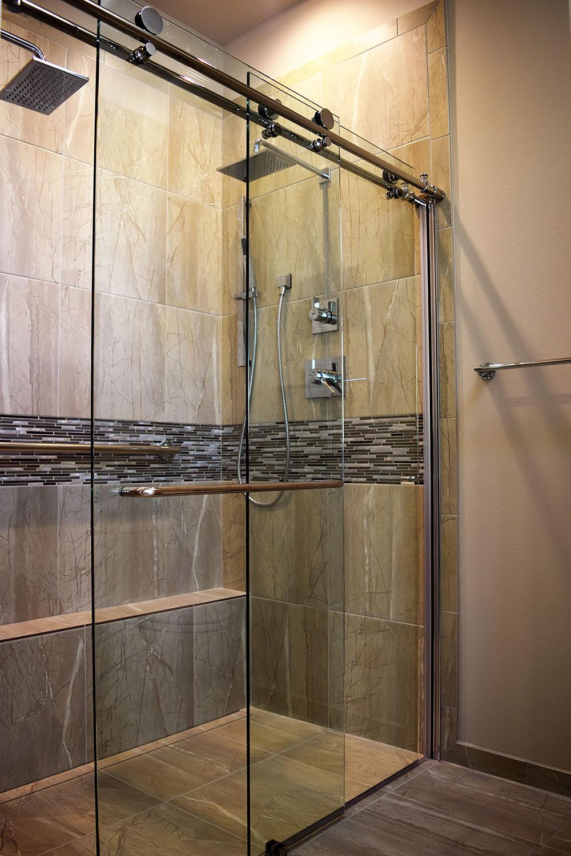 BLACK CAT design build llc - Project - Modern Luxury Shower